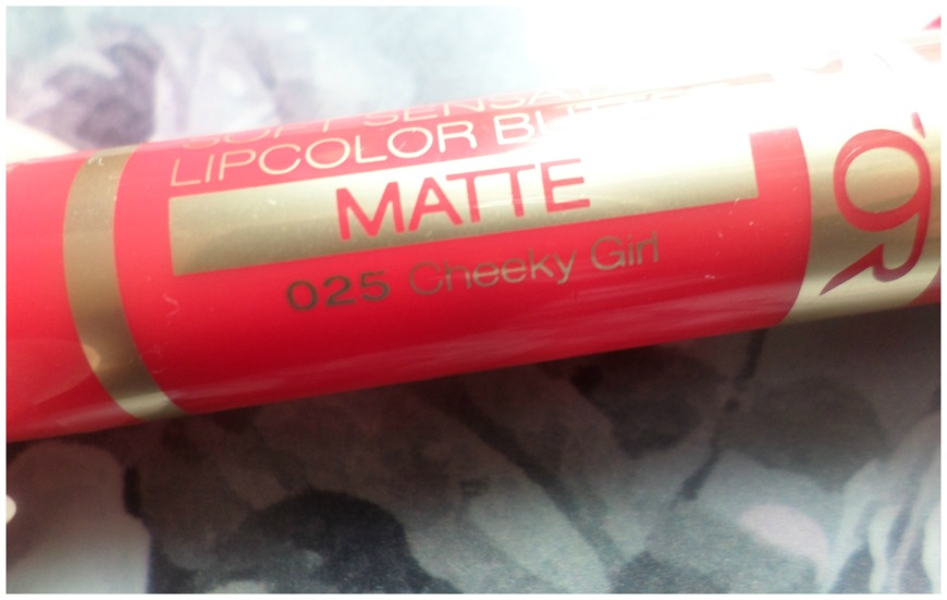 Astor lipcolor butter matte 025 Cheeky Girl 2